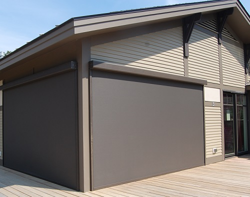 Block the Sun from the outside with Exterior Solar Screen Shades