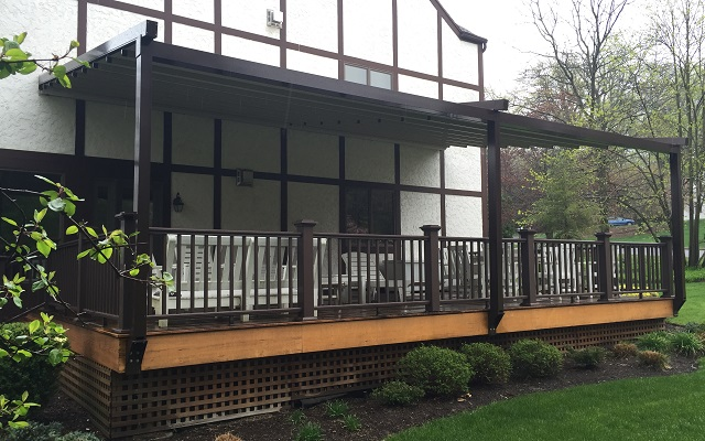 Retractable Pergola Awning Photos | Norther NJ| Bergen Awnings