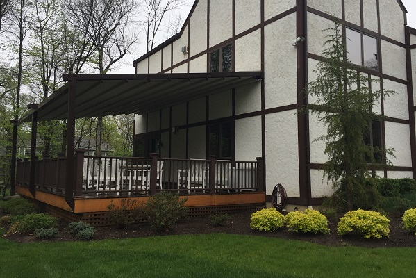 Retractable Pergola Awning In Upper Saddle River