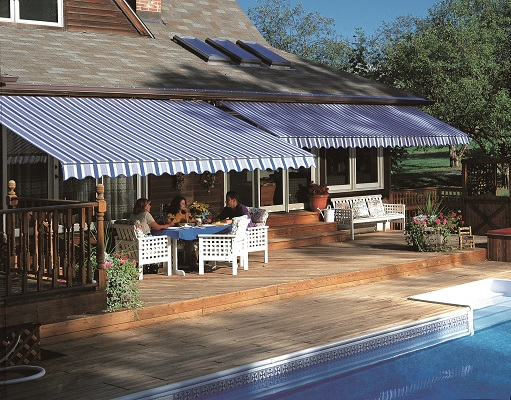 We Have Retractable Awnings ...